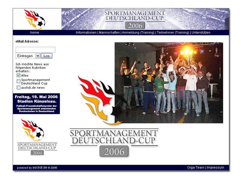 Sportmanagement Deutschland Cup